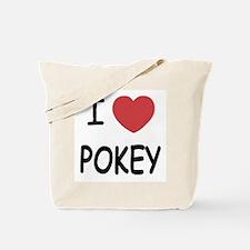 I heart pokey Tote Bag