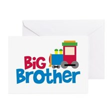Train Engine Big Brother Greeting Cards (Pk of 20)
