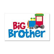 Train Engine Big Brother Car Magnet 20 x 12