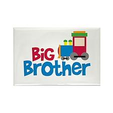 Train Engine Big Brother Rectangle Magnet