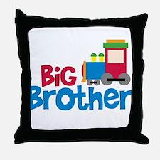 Train Engine Big Brother Throw Pillow