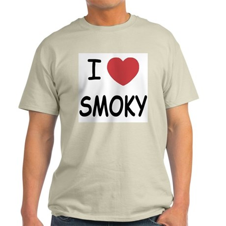 I heart smoky Light T-Shirt