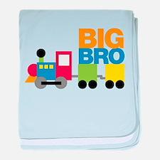 Train Big Brother baby blanket
