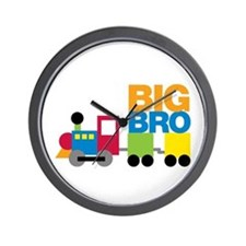 Train Big Brother Wall Clock