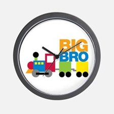 Train Big Brother Wall Clock