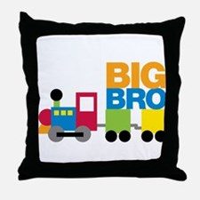 Train Big Brother Throw Pillow