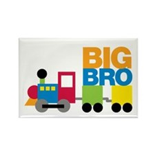 Train Big Brother Rectangle Magnet