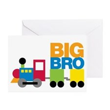 Train Big Brother Greeting Cards (Pk of 20)