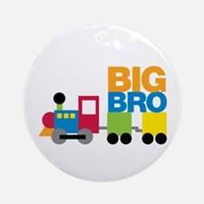 Train Big Brother Ornament (Round)