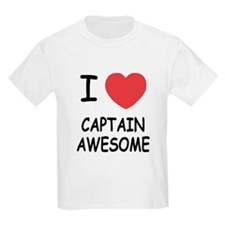 I heart captain awesome T-Shirt