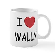 I heart wally Mug