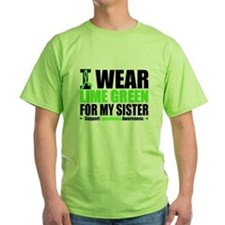 I Wear Lime Green Sister T-Shirt