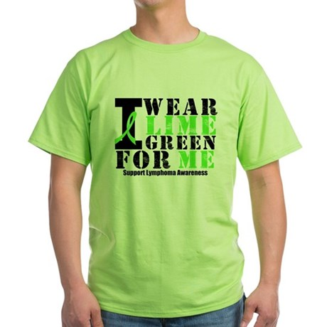 Lymphoma (Me) Green T-Shirt