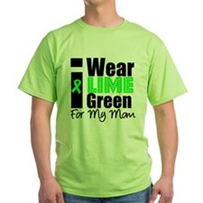 I Wear Lime Green Ribbon T-Shirt
