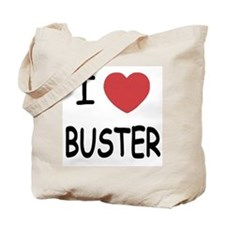 I heart buster Tote Bag