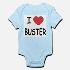 I heart buster Infant Bodysuit