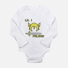 Level 1 Paladin Long Sleeve Infant Bodysuit
