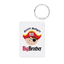 Brown Hair Pirate Big Brother Keychains