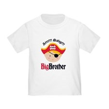 Blonde Hair Pirate Big Brother T