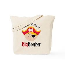 Blonde Hair Pirate Big Brother Tote Bag