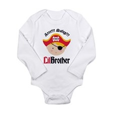 Blonde Hair Pirate Little Brother Long Sleeve Infa