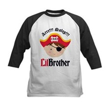 Brown Hair Pirate Little Brother Tee