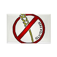Gluten Free Rectangle Magnet (10 pack)