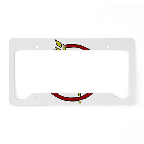 Gluten Free License Plate Holder