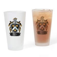 MITCHELL COAT OF ARMS Drinking Glass