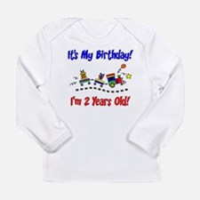 bday train 2 Long Sleeve T-Shirt