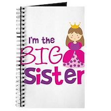 Brown Hair Princess Big Siste Journal