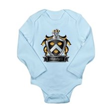 MITCHELL COAT OF ARMS Long Sleeve Infant Bodysuit