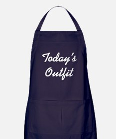 Today's Outfit Apron (dark)