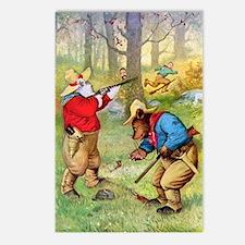 Roosevelt Bears as Cowboy Hunters Postcards (Packa