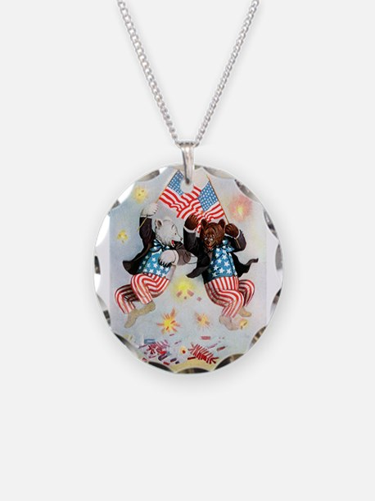Roosevelt Bears Get Patriotic Necklace