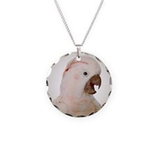 Moluccan Cockatoo Circle Necklace