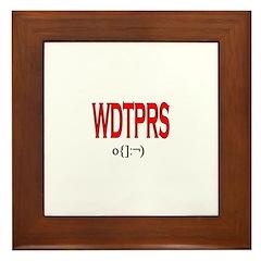 Fr. Z WDTPRS Stuff Framed Tile