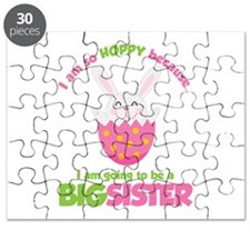 Easter Bunny going to be a Big Sister Puzzle