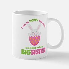 Easter Bunny going to be a Big Sister Mug