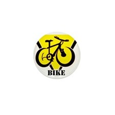 Cute Mountain biking Mini Button