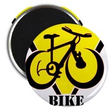 "Cute Mountain biking 2.25"" Magnet (10 pack)"