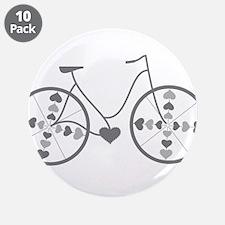 "Cute Biking 3.5"" Button (10 pack)"