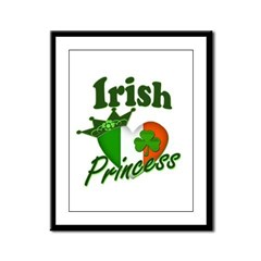 Irish Princess Framed Panel Print