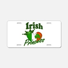 Irish Princess Aluminum License Plate