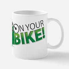 Bike bicycle cycle cycling fun play sport mountain Mug