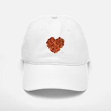Bacon Heart - Baseball Baseball Cap