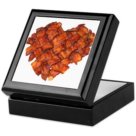 Bacon Heart - Keepsake Box