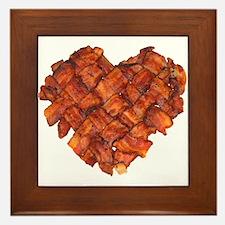 Bacon Heart - Framed Tile