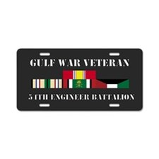 54th Engineer Battalion Gulf War Veteran Aluminum