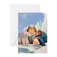 Roosevelt Bears In Alaska Greeting Card